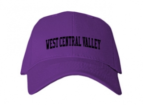 West Central Valley High School Kid Embroidered Baseball Caps