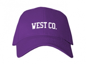 West Co. High School Kid Embroidered Baseball Caps