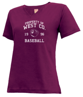 West Co. High School V-neck Shirts