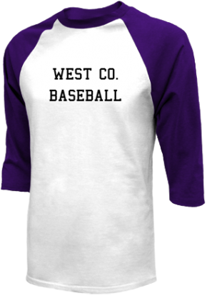 West Co. High School Raglan Shirts