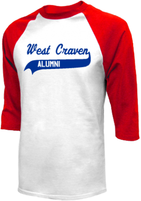 West Craven High School Raglan Shirts
