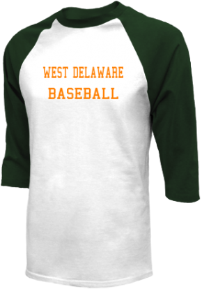 West Delaware High School Raglan Shirts