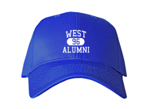 West Elementary School Embroidered Baseball Caps
