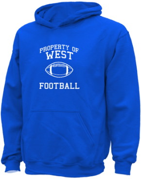 West Elementary School Kid Hooded Sweatshirts