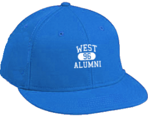 West Elementary School Flat Visor Caps