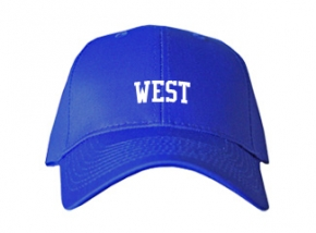 West Elementary School Kid Embroidered Baseball Caps