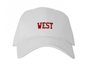 West High School Kid Embroidered Baseball Caps