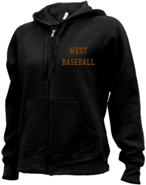 West High School Zip-up Hoodies