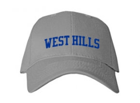 West Hills High School Kid Embroidered Baseball Caps