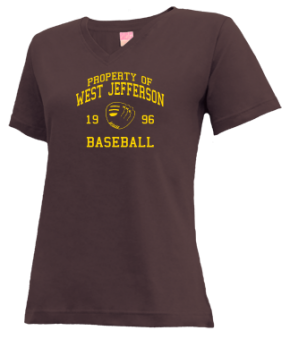 West Jefferson High School V-neck Shirts