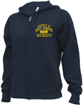 West Kemper Elementary School Zip-up Hoodies