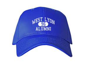 West Lyon High School Embroidered Baseball Caps