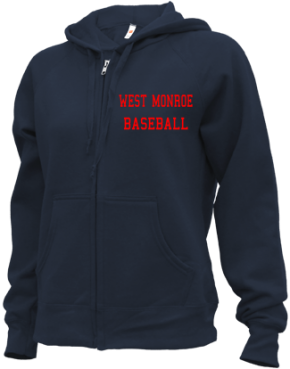West Monroe High School Zip-up Hoodies