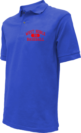 West Noble High School Embroidered Polo Shirts