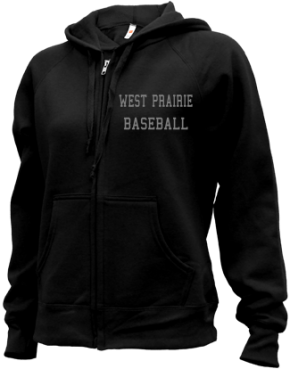 West Prairie High School Zip-up Hoodies
