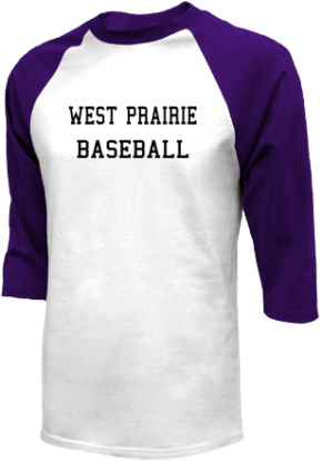 West Prairie High School Raglan Shirts
