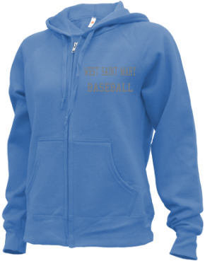 West Saint Mary High School Zip-up Hoodies