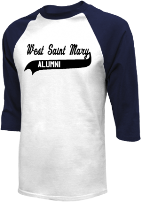 West Saint Mary High School Raglan Shirts