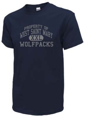 West Saint Mary High School Kid T-Shirts