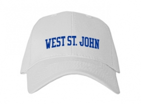 West St. John High School Kid Embroidered Baseball Caps