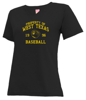 West Texas High School V-neck Shirts