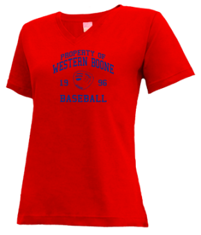 Western Boone High School V-neck Shirts
