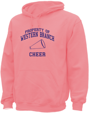 Western Branch Middle School Hoodies