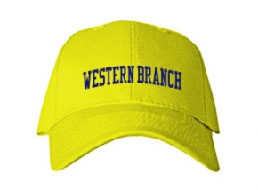 Western Branch Middle School Kid Embroidered Baseball Caps