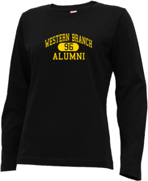 Western Branch Middle School Long Sleeve Shirts