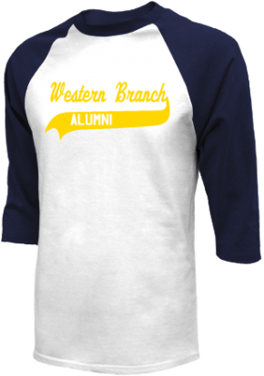 Western Branch Middle School Raglan Shirts