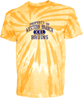 Western Branch Middle School Kid Tie-dye T-Shirts