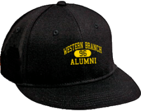 Western Branch Middle School Flat Visor Caps