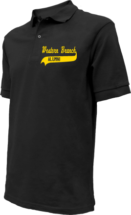 Western Branch Middle School Embroidered Polo Shirts