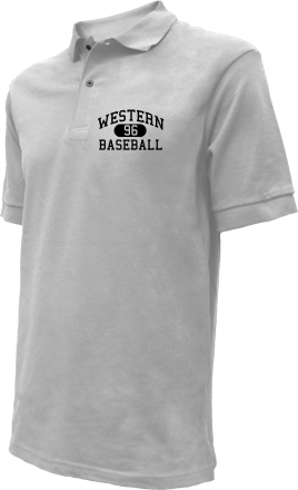 Western High School Embroidered Polo Shirts
