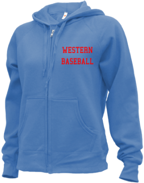 Western High School Zip-up Hoodies