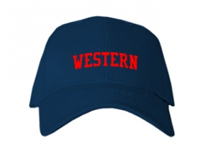 Western High School Kid Embroidered Baseball Caps