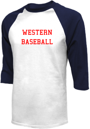 Western High School Raglan Shirts