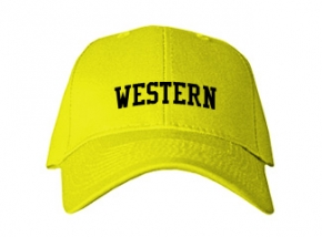 Western Middle School Kid Embroidered Baseball Caps