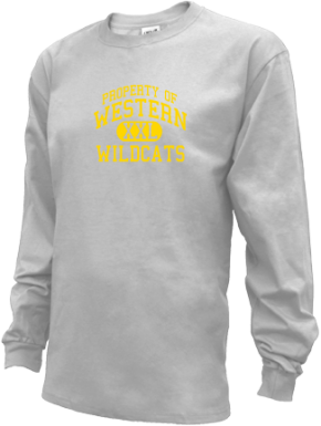 Western Middle School Kid Long Sleeve Shirts