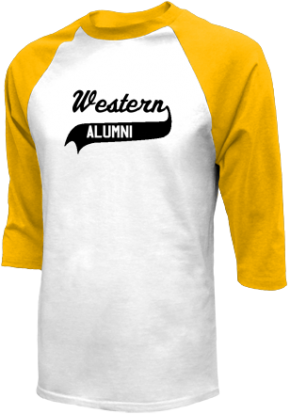 Western Middle School Raglan Shirts