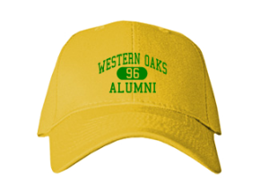 Western Oaks Middle School Embroidered Baseball Caps