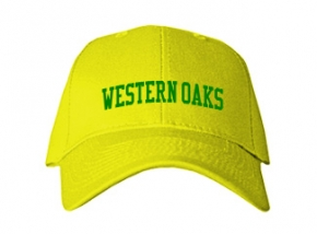 Western Oaks Middle School Kid Embroidered Baseball Caps