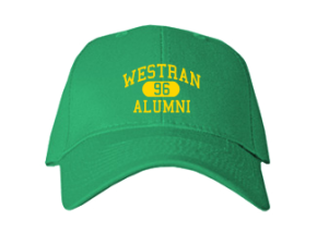 Westran Middle School Embroidered Baseball Caps