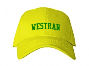 Westran Middle School Kid Embroidered Baseball Caps