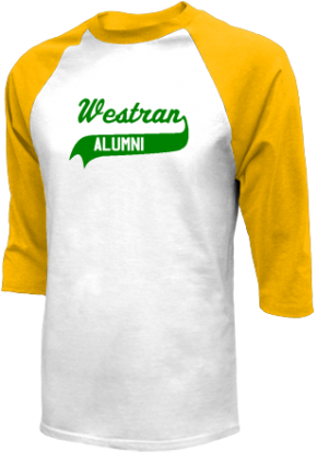 Westran Middle School Raglan Shirts