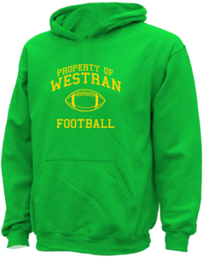 Westran Middle School Kid Hooded Sweatshirts