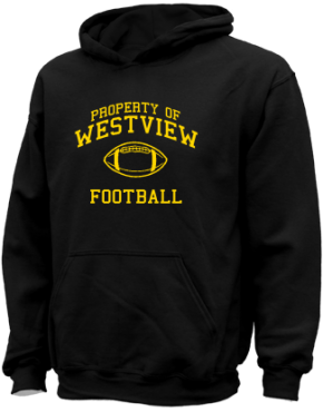 Westview Middle School Kid Hooded Sweatshirts