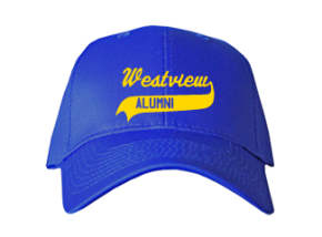 Westview Middle School Embroidered Baseball Caps