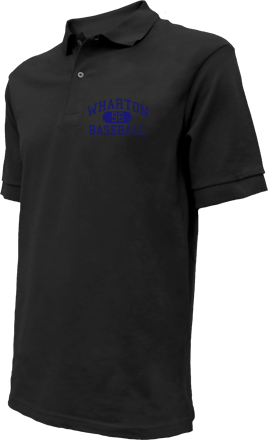 Wharton High School Embroidered Polo Shirts