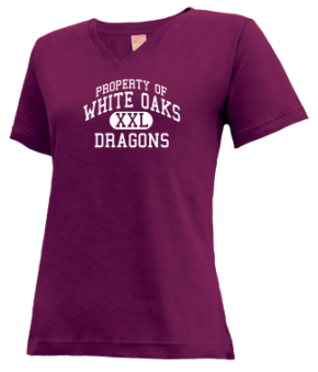 White Oaks Elementary School V-neck Shirts